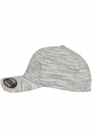 Sapca Melange Flexfit Stripes negru-gri deschis