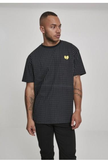 Tricou dungi Wu-Wear Pin negru