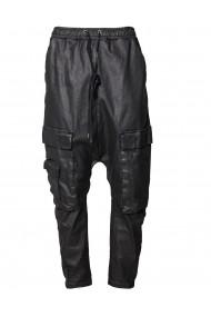 Pantalon Material Cerat buzunare
