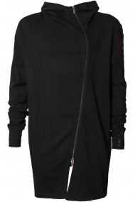 CARDIGAN ZIPPER BLACK OFF