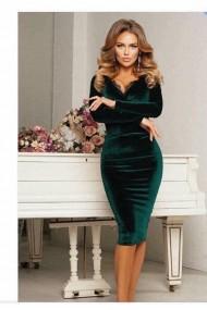 Rochie eleganta din catifea