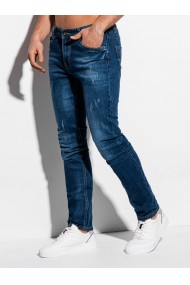 Blugi barbati P1014 - albastru-inchis