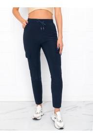 Pantaloni femei PLR006 - bleumarin