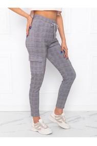 Pantaloni femei PLR003 - gri-roz