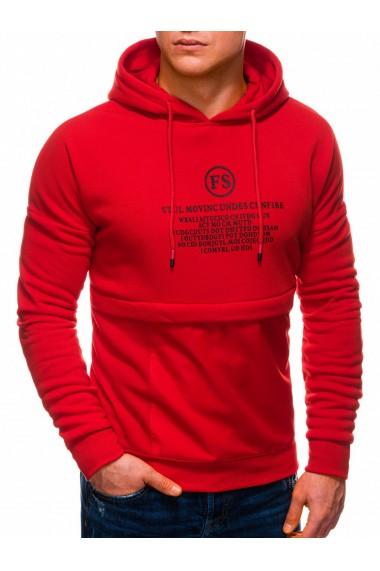 Hanorac barbati B1244 - rosu