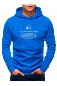 Hanorac barbati B1244 - albastru