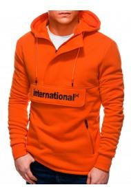 Hanorac barbati B1242 - portocaliu