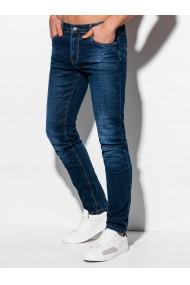 Blugi barbati P1016 - albastru-inchis