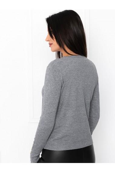 Pulover femei ELR001 - gri