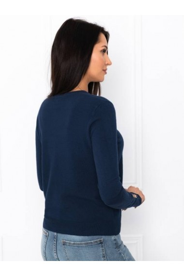 Pulover femei ELR001 - bleumarin