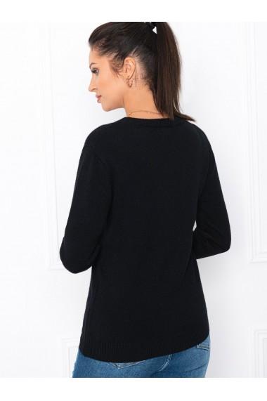 Pulover femei ELR007 - negru