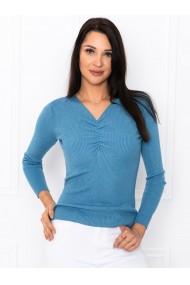 Pulover femei ELR008 - albastru