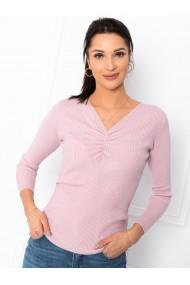 Pulover femei ELR008 - roz