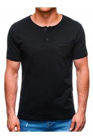 Tricou barbati S1389 - negru