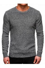 Bluza barbati E167 - gri-inchis