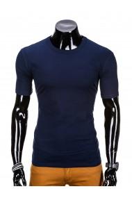 Tricou barbati bumbac - S970-bleumarin