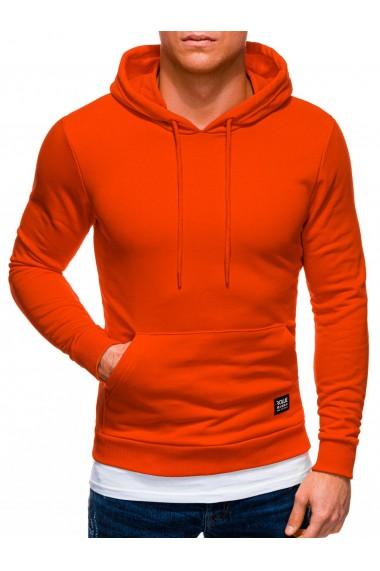 Hanorac barbati B1237 - portocaliu