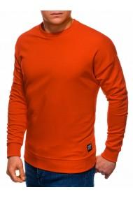 Bluza barbati B1229 - portocaliu-inchis
