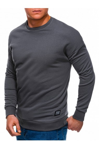 Bluza barbati B1229 - gri-inchis
