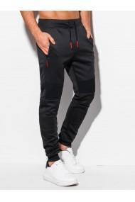 Pantaloni de trening barbati P1006 - negru