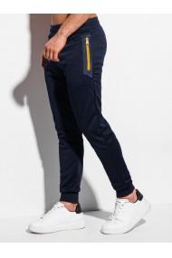 Pantaloni de trening barbati P1008 - bleumarin