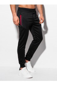 Pantaloni de trening barbati P1008 - negru