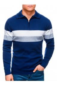 Bluza barbati E184 - albastru