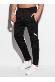 Pantaloni de trening barbati P1009 - negru