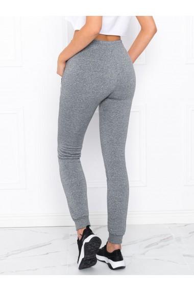 Pantaloni de trening femei PLR004 - gri