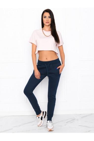 Pantaloni de trening femei PLR001 - bleumarin