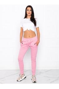 Pantaloni de trening femei PLR001 - roz