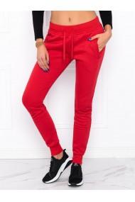 Pantaloni de trening femei PLR001 - rosu