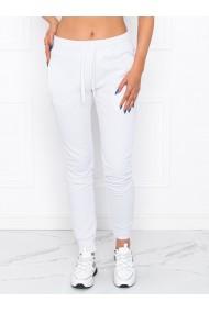 Pantaloni de trening femei PLR001 - alb