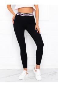 Colanti femei PLR003 - negru-roz