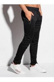 Pantaloni de trening barbati P1010 - negru