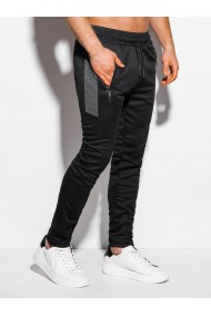Pantaloni de trening barbati P1011 - negru