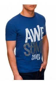 Tricou barbati S1403 - albastru