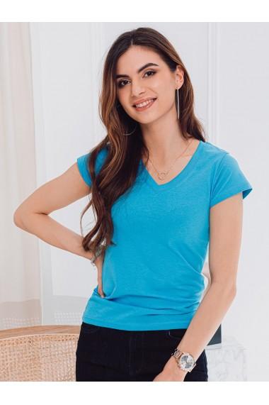 Tricou simplu femei SLR002 - turcoaz