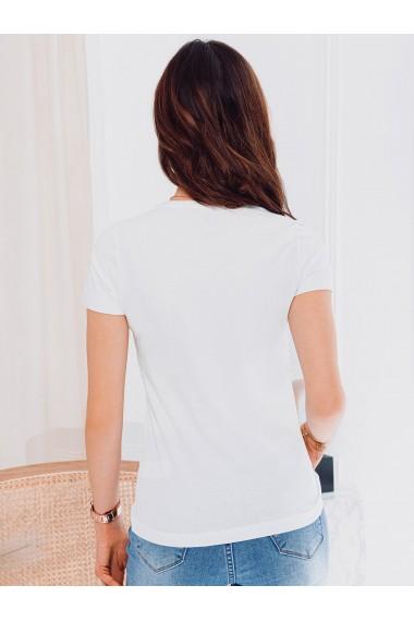 Tricou simplu femei SLR001 - alb