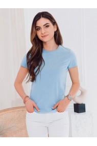Tricou simplu femei SLR001 - albastru-deschis
