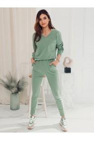 Pantaloni de trening femei PLR045 - menta