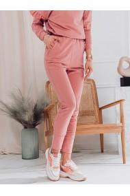 Pantaloni de trening femei PLR045 - roz