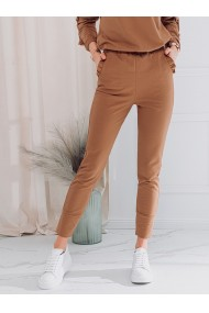 Pantaloni de trening femei PLR045 - bej