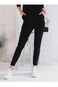 Pantaloni de trening femei PLR045 - negru