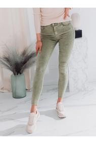 Blugi femei PLR043 - verde