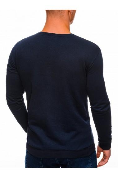 Bluza barbati B1268 - bleumarin