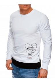 Bluza barbati B1269 - alb