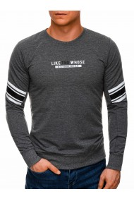 Bluza barbati B1270 - gri-inchis