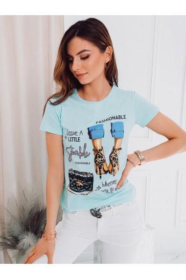 Tricou femei SLR007 - menta