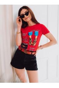 Tricou femei SLR007 - rosu